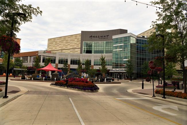 Торговый центр в Чикаго.