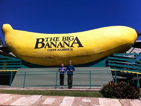 Большой банан, Коффс Харбор.