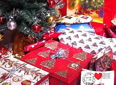 Send Christmas presents to Russia, Ukraine.