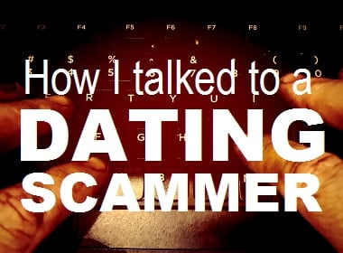 dating scammer