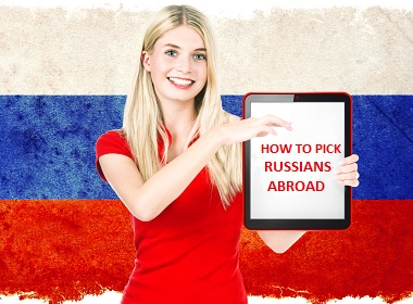 10 tips how to recognize Russians abroad.